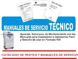manual d servicio ricoh aficio 2015/2018/2020/mp2000 español