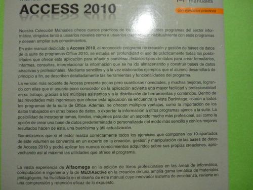 manual de accesss 2010