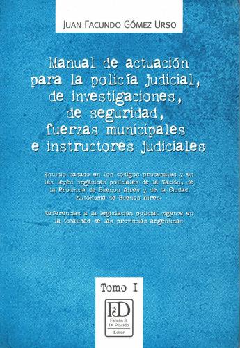manual de actuación para la policía judicial