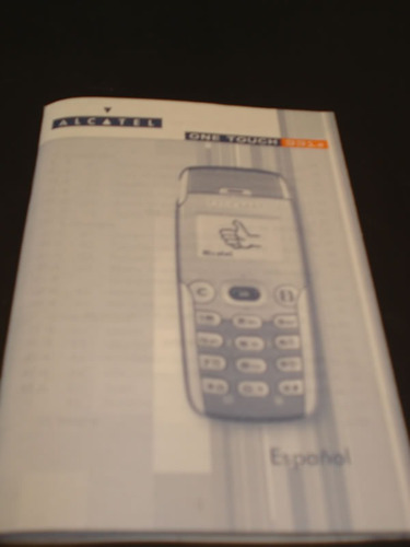 manual de alcatel 331
