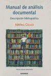 manual de análisis documental(libro ciencias de la informaci