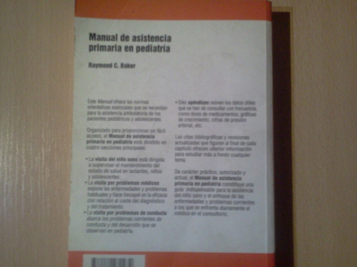 manual de asistencia primaria en pediatria