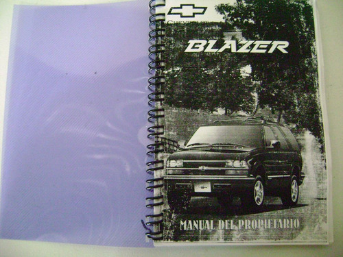 manual de blazer