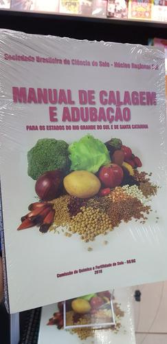 manual de calagem e adubação p/ sc rs