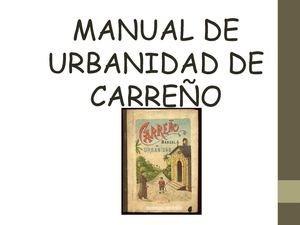 manual de carreño - urbanidad y buenaslibro pdf +regalo