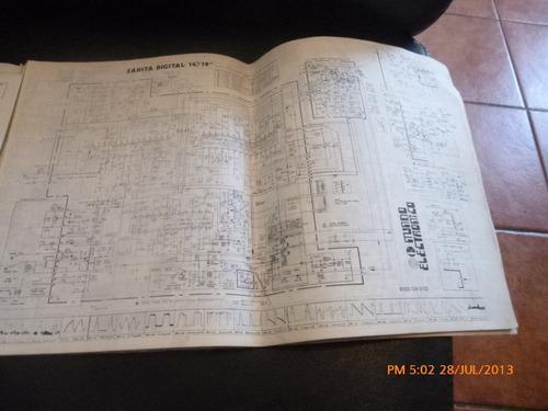 manual de circuitos t.v. incluye 7 m rca mundo electr (544