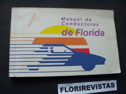 manual de conductores del estado de florida ( ee uu ) - $ 100,00 en