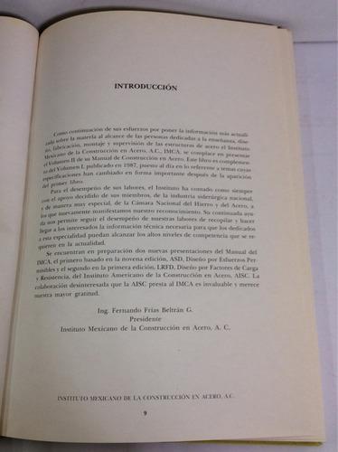manual de construcción en acero, inst. mexicano de la constr