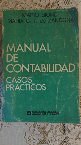 manual de contabilidad casos practicos mario biondi macchi