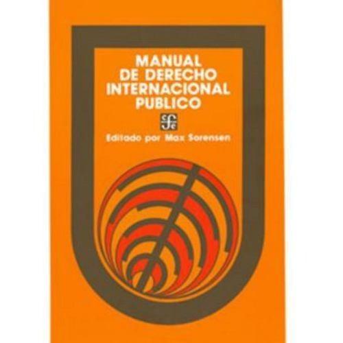manual de derecho internacional público - varios autores