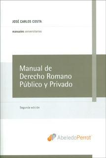 manual de derecho romano público y privado