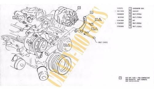 manual de despiece - chevrolet camaro ss rs 1974 - 1981