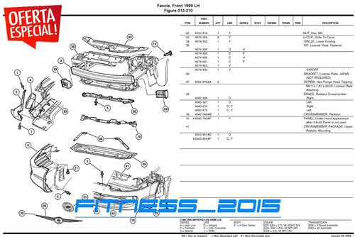 manual de despiece chrysler pt cruiser 2001 - 2008 catalogo