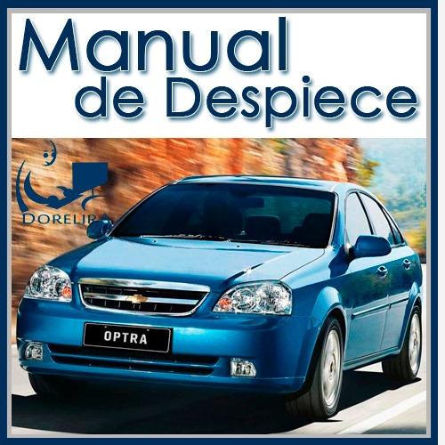 manual de despiece completo chevrolet optra español