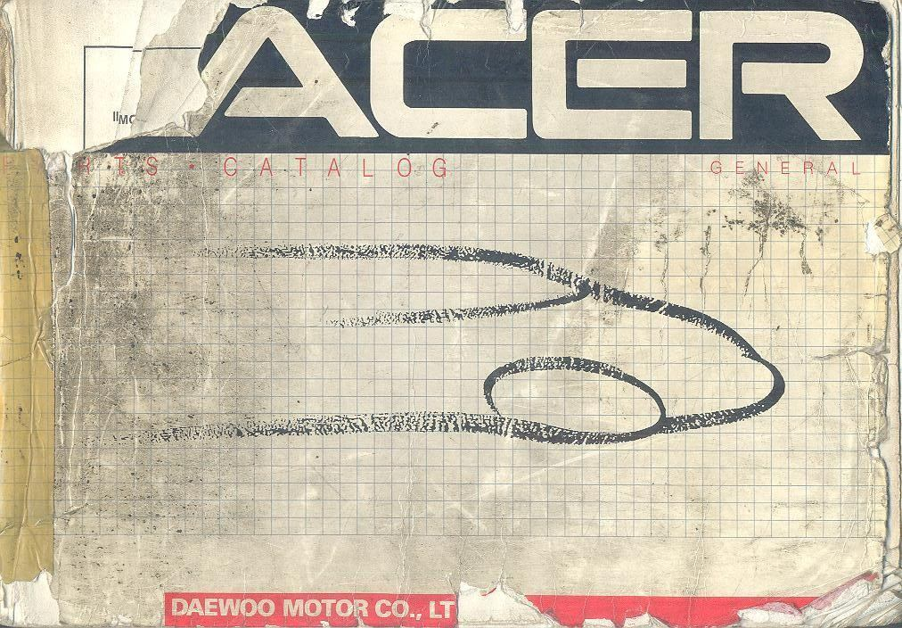manual de despiece daewoo racer 1 950 00 en mercado libre rh articulo mercadolibre com ar daewoo racer 1994 manual download daewoo racer manual download