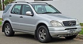 manual de despiece mercedes benz ml350 (1997-2005) español