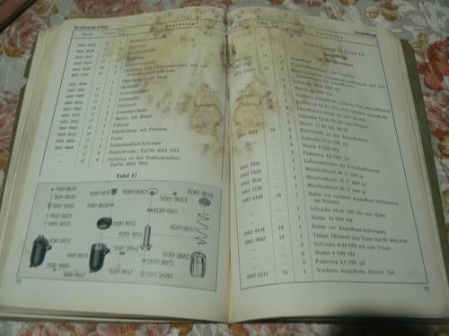 manual de despiece mercedes-benz-nutzwagen l2000 und o 2000