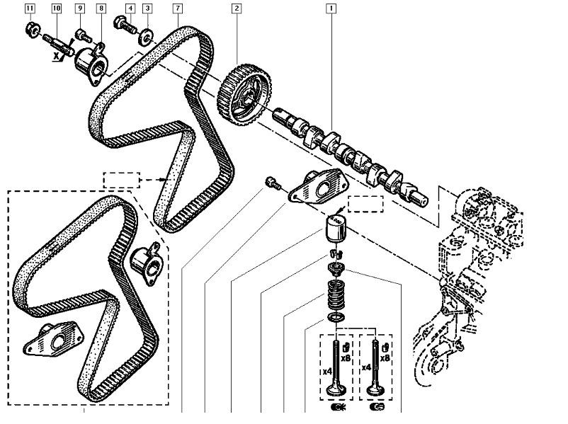 Manual De Despiece Renault 21 1986 1995 En Espaol