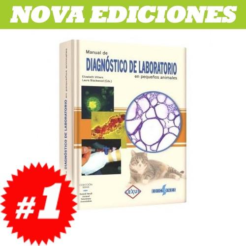 manual de diagnóstico de laboratorio en pequeños animales