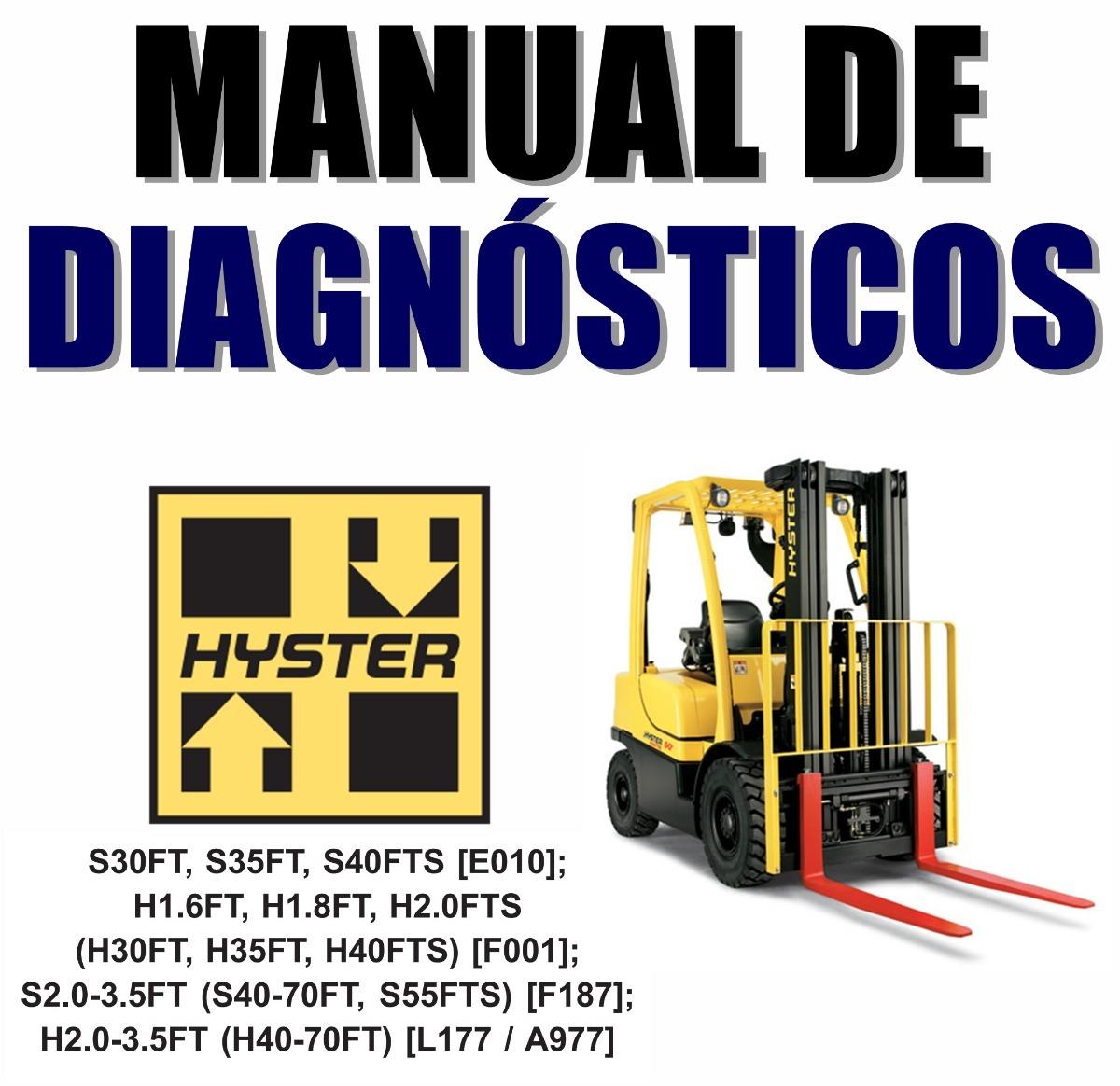 manual de diagnósticos hyster h40-70ft empilhadeira. Carregando zoom.