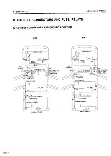 Manual De Diagramas Electricos Daewoo Cielo Y Racer Ii