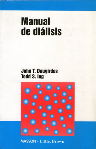 manual de diálisis. daugirdas