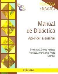 manual de didáctica: aprender a enseñar (psicol envío gratis