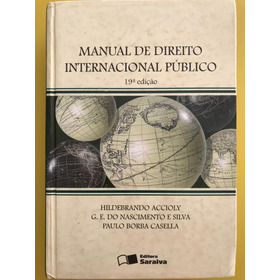 Manual De Direito Internacional Público - 19ª Edição
