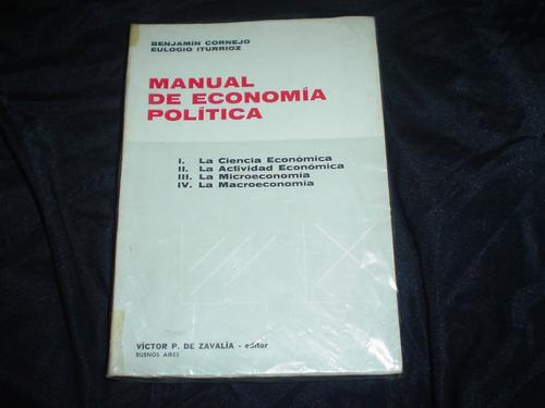 manual de  economia politica cornejo iturrioz zavalia