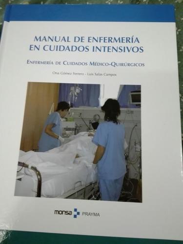 manual de enfermería en cuidados intensivos