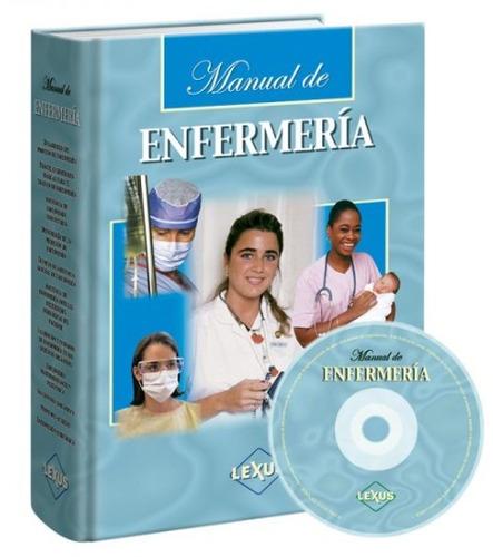 manual de enfermería lexus 1 tomo + cd. nuevo y original