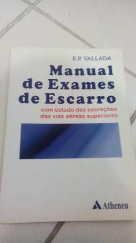 manual de exames de escarro