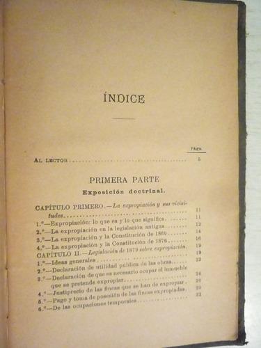 manual de expropiación forzosa. f. abella. 3a ed. 1894
