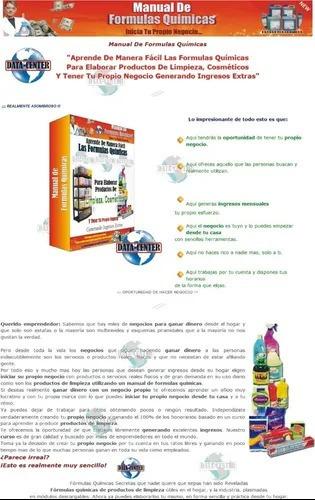 manual de fórmulas químicas manual digital