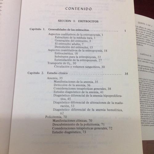 manual de hematología. editorial el manual moderno.