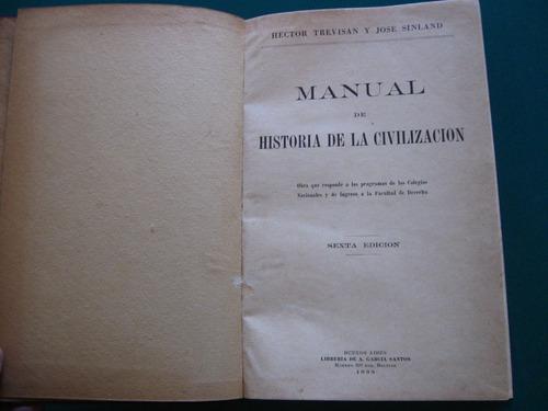 manual de historia de la civilizacion, trevisan, sinland