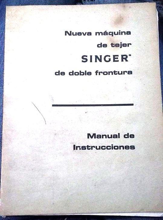 Manual De Instrucciones Nueva Máquina De Tejer Singer Vv Aa - $ 150 ...