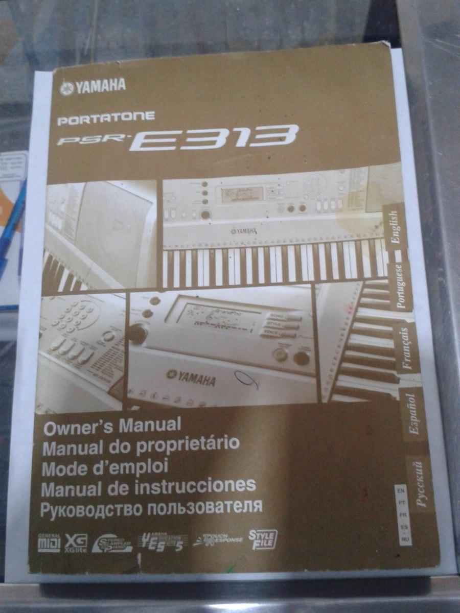 manual de instrucciones teclado yamaha portatone psr e313 bs 60 rh articulo mercadolibre com ve Reparacion De Teclados Yamaha Teclado Yamaha YPT 320