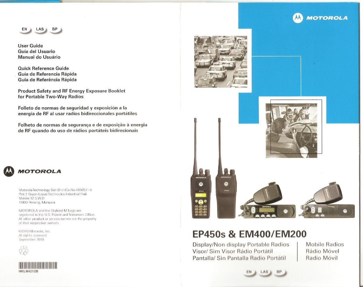 Motorola Manual De Instrucoes