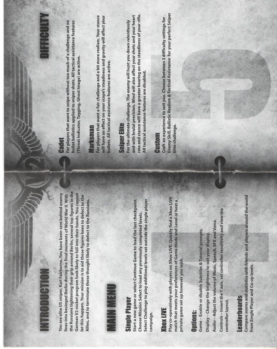 Sniper Elite V2 Manual Open Circuit Test Short On Transformer Caroldoey Newhandbookstandardreticlepatterns Ver8 New Array De Instrucoes Jogo X360 Original R 1800 Rh Produto Mercadolivre