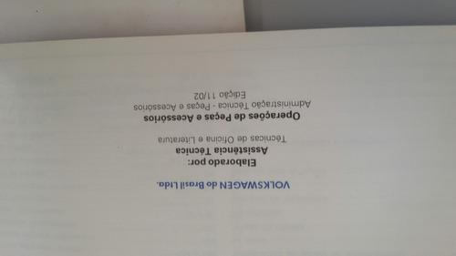 manual de instruções manutenção e garantia gol 1.0 e 1.6