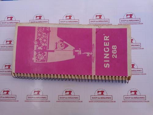 manual de instruções maquina costura singer facilita 268 bob
