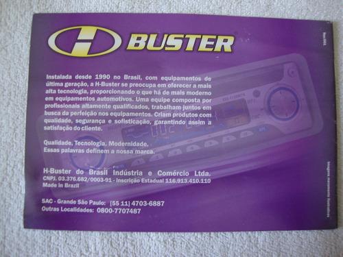 manual de instruções toca cd buster .