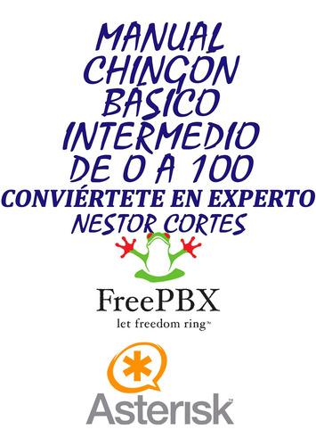 manual de intalacion y configuracion de freepbx de 0 a 100