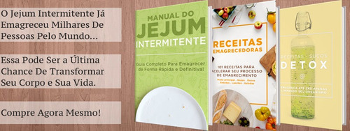 manual de jejum intermitente emagrecer saudável