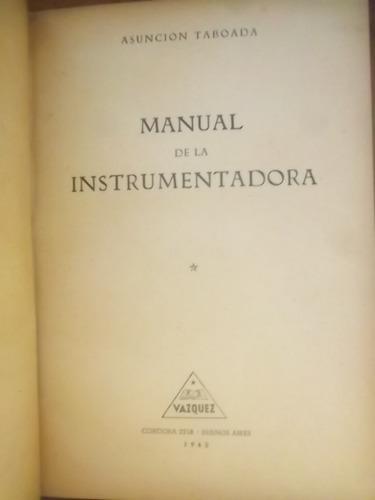 manual de la instrumentadora asuncion taboada