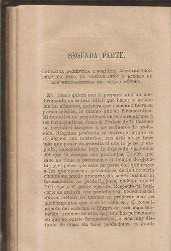 manual de la salud / medicina y farmacia domestica / raspail