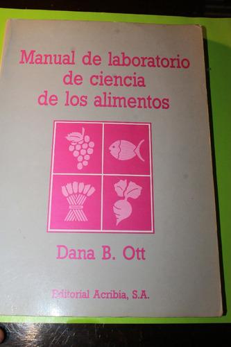 manual de laboratorio de ciencias de los alimentos  ott