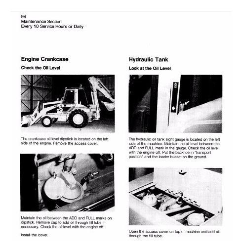 Manual De Mantenciones Caterpillar 416, 426, 428, 436 Y 428