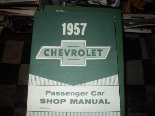 manual de manutenção chevrolet 1957 carro passeio